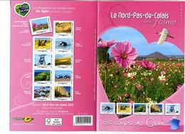 Le Nord-pas-de-calais Comme J'aime Vos Coups De Cœur 2012 Plié - France