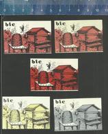 B.I.C. ( BETUWSE IMKER CLUB) ( BIJENKORF BIJEN ABEILLES BEES ) Luciferetiketten- Matchbox Labels The Netherlands 1967 - Boites D'allumettes - Etiquettes