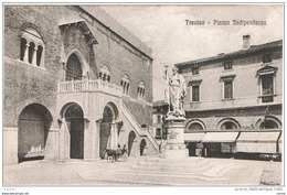 TREVISO:  PIAZZA  INDIPENDENZA  -  FP - Treviso