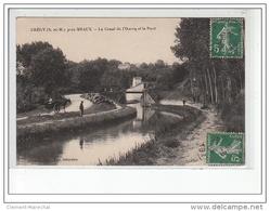 CREGY Près MEAUX - Le Canal De L'Ourcq Et Le Pont - Très Bon état - France