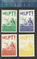 ANTI VIVISECTIE STICHTING DEN HAAG ( DOGS HONDEN CHIENS HUNDE ) Luciferetiketten- Matchbox Labels The Netherlands 1967 - Boites D'allumettes - Etiquettes