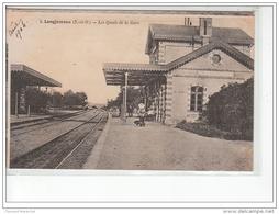 LONGJUMEAU - Les Quais De La Gare - Très Bon état - Longjumeau
