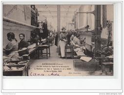 AUBUSSON - Un Des Ateliers De Tapis De La Savonnerie - Manufacture Hamot - Très Bon état - Aubusson