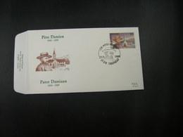 """BELG.1989 2346 FDC ( Tremelo ) :  """"  Pater Damiaan / Pére Damien """" - 1981-90"""