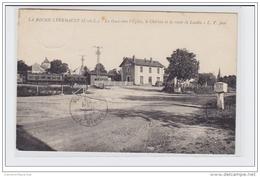 LA ROCHE-CLERMAULT - La Gare Vers L'église, Le Château Et La Route De Loudin- Très Bon état - France