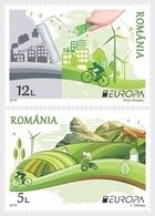 Roumanie Romania 6010/11 Europa, écologie - Europa-CEPT