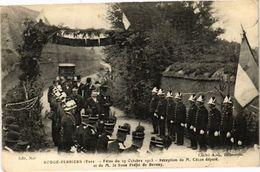 CPA ROUGE-PERRIERS Fetes En 1913 Réception Du Député Et Du Sous Préfet (148341) - France