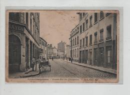 Lyon Charpennes Villeurbanne Grande Rue Des Charpennes Mayen Rue Pavée - Non Classés