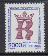 Poland 1991 KSZE Symposium 1v ** Mnh (44168A) - Europese Gedachte