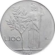 1981 Italy 100 Lire Coin - 1946-… : République