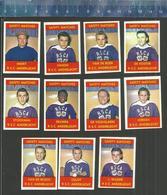 R.S.C. ANDERLECHT VOETBAL VOETBALLERS  JAREN 1960 JOUEURS DE FOOTBALL SOCCER Matchbox Labels - Luciferdozen - Etiketten