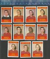 R. STANDARD C. Liège  VOETBAL VOETBALLERS  JAREN 1960 JOUEURS DE FOOTBALL SOCCER Matchbox Labels - Boites D'allumettes - Etiquettes
