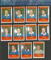 A.R.A. LA GANTOISE (A.A. GENT)  VOETBAL VOETBALLERS  JAREN 1960 JOUEURS DE FOOTBALL SOCCER Matchbox Labels - Matchbox Labels