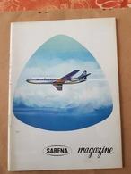 SABENA Présentation De La Caravelle De La SABENA   MAGAZINE JANVIER 1961 - Avion