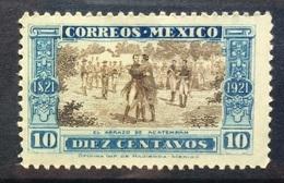 MEXICO 1921 Meeting Of Iturbide And Guerrero - Mexico