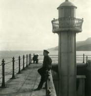 Russie Crimée Yalta Jalta Le Phare Ancienne Photo Stereo NPG 1900 - Stereoscopic