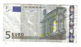 5 €  ITALIA J001E3 Duisenberg CIRCULATED Cod.€.185 - EURO