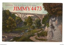 CPA - LUXEMBOURG - Vallée De La Pétrusse Et Pont Adolphe En 1911 - Edit. Grand Bazar Champagne Luxembourg-Gare - Luxembourg - Ville