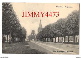 CPA - Dorpstraat En 1931 - Ertvelde ( Commune De Evergem ) Flandre Orientale - Uitg. Hutsebaut - Ertvelde - Evergem