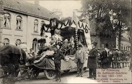 Cp Leer In Niedersachsen, Gallimarkt Jubelfeier, Jubiläum Der Weberei 1507-1907 - Deutschland