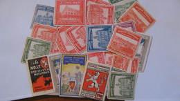Plus De 20 Vignettes Exposition Lyon 1914 Tous états - Commemorative Labels