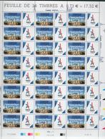"""FRANCE N° 5144A Feuille Entière """"Venez Partager Lima"""" 13/09/2017 Côte 250 € - Full Sheets"""