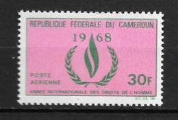 PA - 1968 - N° 121**MNH - Année Des Droits De L'homme - Camerun (1960-...)