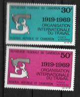 PA - 1969 - N° 144 à 145**MNH - 50 Ans OIT - Camerun (1960-...)
