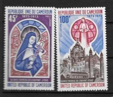 PA - 1973 - N° 210 à 211**MNH - Sainte Thérèse De L'enfant Jésus - Camerun (1960-...)