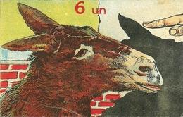 """Umoristica, """"6 Un ... Asino"""" Riproduzione Da Orig., Reproduction, Illustrazione, (E17) - Humor"""