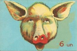 """Umoristica, """"6 Un ... Maiale"""", Riproduzione Da Orig., Reproduction, Illustrazione, (E21) - Humor"""