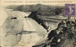 Le Val André (C Du N) Les 4 Plages De La Ville Pichaed De Nantois De St Babu Et De Carroual RV - Francia