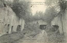 - Oise -ref-B478- Liancourt - Carrières De Neuilly - Carrière - Industrie -verso Cachet Militaire - Marcophilie - - Liancourt