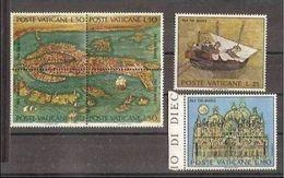 1972 Vaticano Vatican VENEZIA  VENICE Serie Di 6 Valori MNH** - Vatican