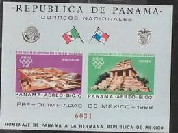 PANAMA - 1964 - PREOLIMPIADI MEXICO '68 - FOGLIETTO NUOVO **NH (MICHEL BL 69) - Estate 1968: Messico