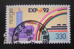 """EX¨PO'92"" - EXPO UNIVERSELLE A SEVILLE 1992 - OBLITERE - YT 1051 - MI 1094 - Norvège"