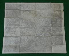 Carte Géographique Militaire De L'Armée De La Loire - Document Pour Les Opérations à L'Ouest D'Orléans - Cartes