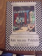 Protège Cahier Aux 100.000 Paletots CAUDRY Le Laboureur Et Ses Enfants  Fable De La Fontaine - Publicidad