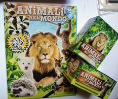 Animali Nel Mondo Album Vuoto+2 Box 100 Bustine FOL. BO Del 2014 - Adesivi