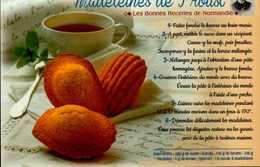 MADELEINES DE PROUST...CPM - Küchenrezepte