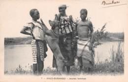 REPUBLIQUE DU CONGO Haut Oubangui Jeunes Femmes 23(scan Recto-verso) MA207 - French Congo - Other