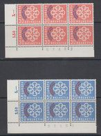 Switzerland 1959 PTT Conference 2v Bl Of 6 (sheet Number) ** Mnh (44174) - Europese Gedachte