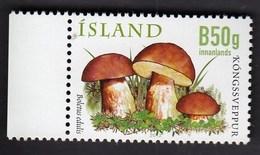 Iceland Island 2012 / Mushrooms - Boletus Edulis / MINT Unused Stamps - Ungebraucht