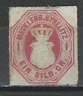 Mecklenburg-Strelitz Mi 4 (*) No Gum - Mecklenbourg-Strelitz