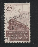FRANCE 1941 LIVRAISON A DOMICILE YT 174 OBLITERE - Parcel Post