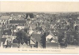 81. TROYES . PANORAMA SUD . VUE PRISE DE LA TOUR SAINTE-MADELEINE . CARTE NON ECRITE - Troyes