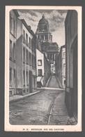 Bruxelles - Rue Des Capucins - Buvard / Vloeipapier - 15,8 X 9,7 Cm - Zonder Classificatie