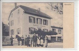 GLOVELIER - CAFE DE LA POSTE - MULTI-ANIMATION - N/C - JU Jura