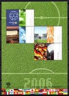 Germany Deutschland Allemagne 2006 R MNH Block Sport WK WM Football Voetbal Futbol Fussball Soccer Futebol Fotbal Calcio - World Cup
