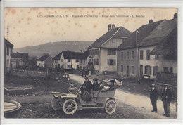 DAMVANT - RTE DE PORRENTRUY - HOTEL DE LA COURONNE ET OLD CAR - EN L'ETAT - N/C - JU Jura